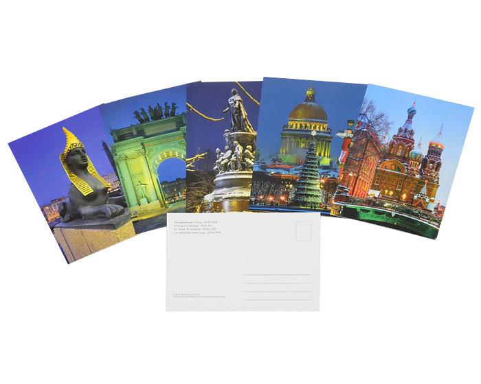 Виды санкт петербурга набор открыток, осенние дни рождения