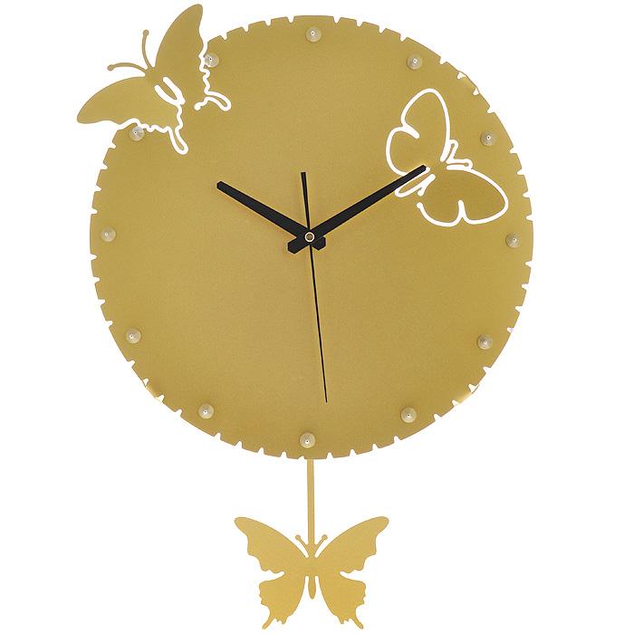 Настенные часы-бабочки принесут теплю и уют в ваш дом, позитивное настроение гарантировано.