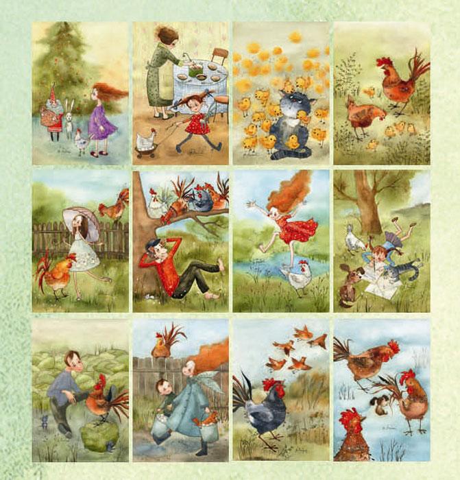 более набор старинных открыток именно так фотографируют