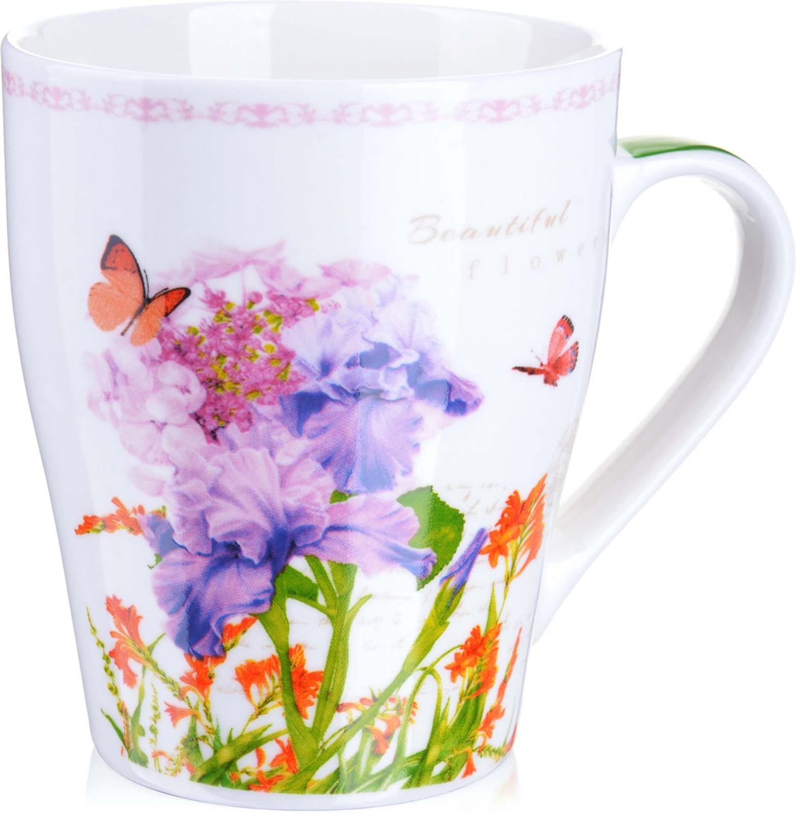 Картинки чашка с цветами